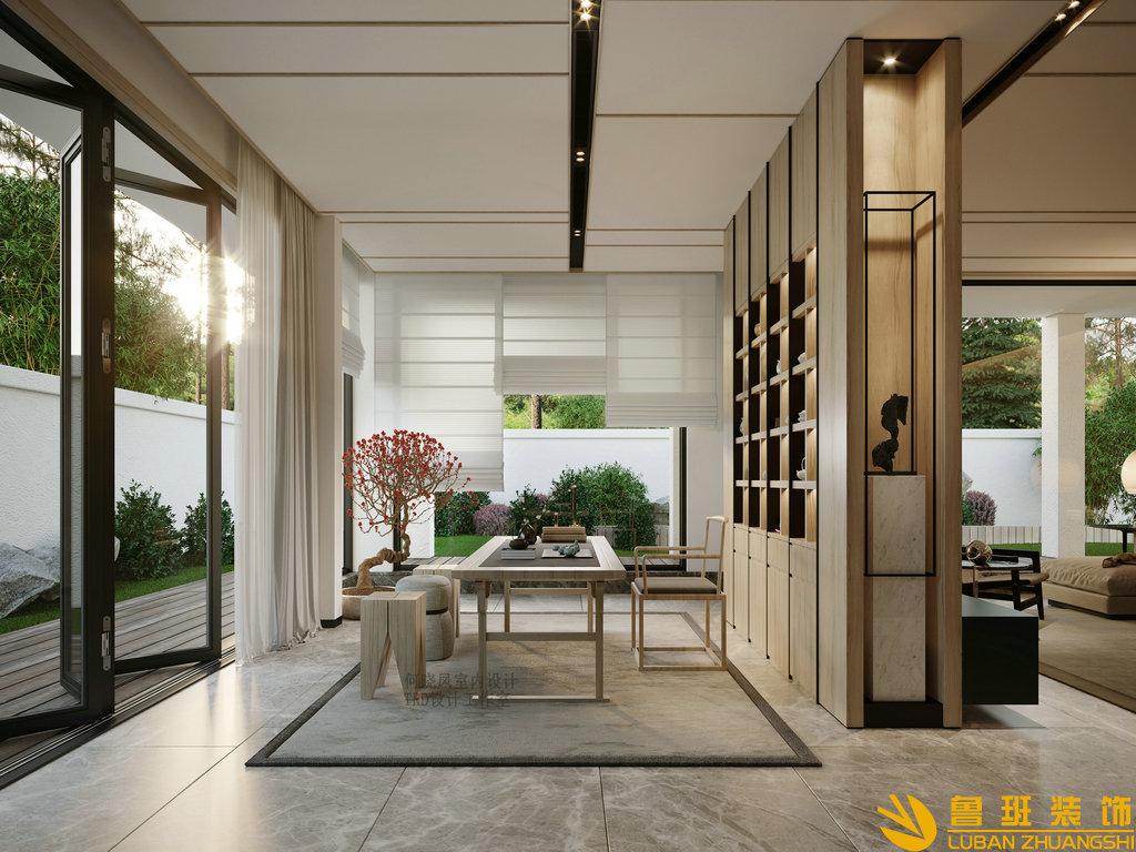 650平山水峨眉大別墅裝修簡約風格設計圖