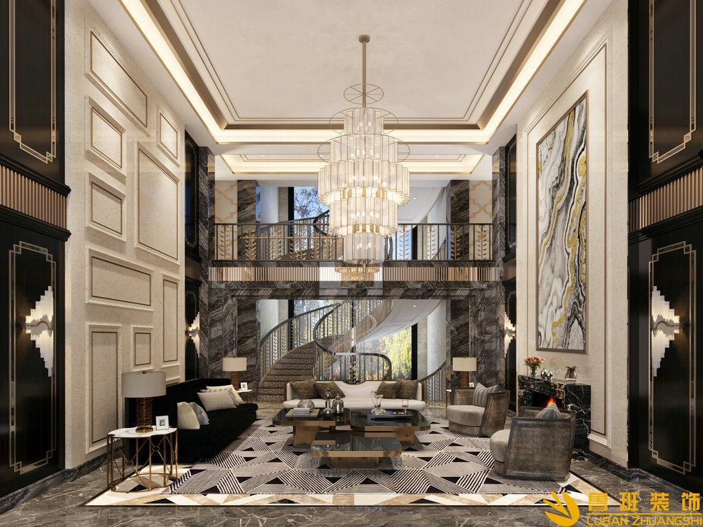 620平山水峨眉獨棟別墅裝修現代簡約風格設計圖